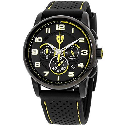 Ferrari Heritage Quartz Analog Black Dial Men's Watch 830061