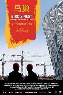 Bird's Nest - Herzog & De Meuron in China POSTER Movie (2008) Style A 11 x 17 Inches - 28cm x 44cm (Pierre De Meuron)(Jacques Herzog)(Uli Sigg)(Ai Weiwei)