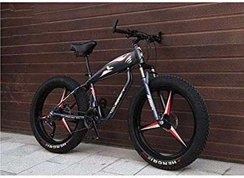 Buy Cool furniture 26 Inch Wheels Mountain Bike Bicycle for Adults, Fat Tire Hardtail MBT Bike, High...