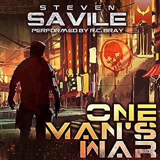 One Man's War cover art