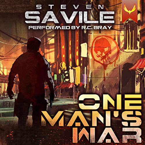 One Man's War Audiobook By Steven Savile cover art