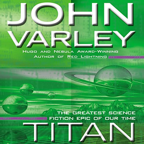 Titan audiobook cover art