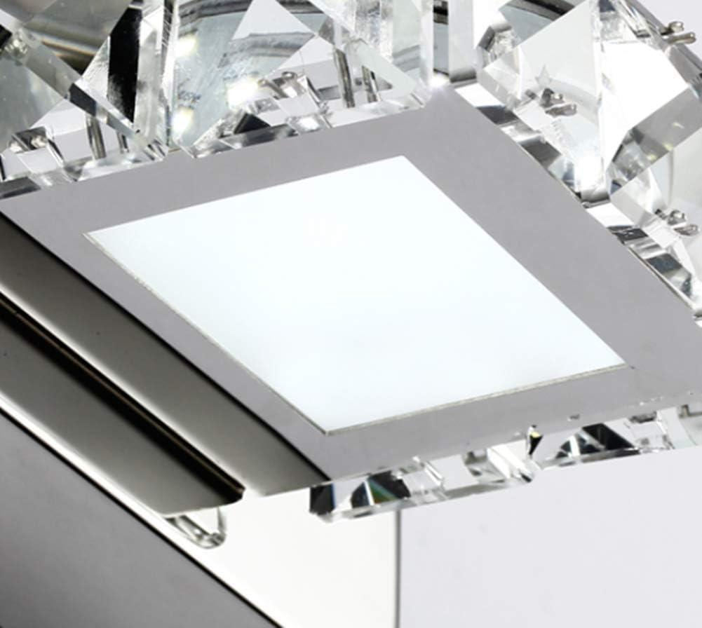 Badezimmer Wandleuchte Mode K9 Kristallspiegel Frontleuchte LED Wasserdicht und beschlagfrei Waschschrank Lichtspiegelschrank 12W 13s