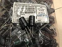 50pcs 22uF 400V SAMXON KM Series 12.5x20mm 400V22uF Bipolar Electrolytic capacitor