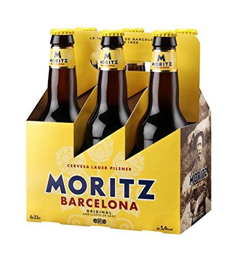 Moritz Bier 6er Pack ( 6 Fl. x 0,33cl. ) 5,4% Vol. inc. 0.48€ MEHRWEG Pfand