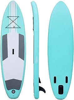Tabla de Surf Tablero Sup For Paletas De Pie Inflables Unisex 305x76x15 Cm Tabla de Paddle (Color : Verde, tamaño : 305x76x15cm)