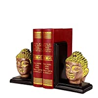創造的なブックエンドの本棚仏頭の装飾装飾品手工芸品の家具オフィスのデスクトップの装飾装飾品24 * 9 * 11CM