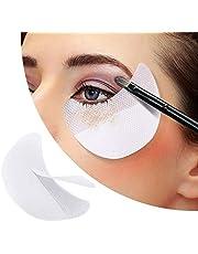 Kalolary 120 stuks Oogschaduw-sticker, wegwerp oogschaduwpads, oogschaduw schild protector pads voor ogen lippen make-up gebruiksgereedschap