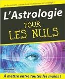 L'Astrologie pour les nuls de Rae Orion ( 17 janvier 2001 ) - 17/01/2001