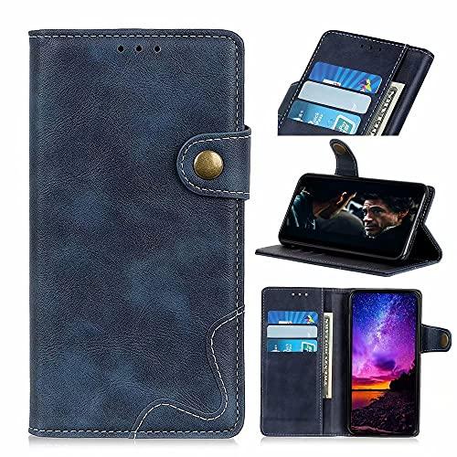 Ufgoszvp Funda para Samsung Galaxy A12 de piel sintética de primera calidad con función atril, cierre magnético, 2 ranuras para tarjetas, funda tipo libro compatible con Samsung Galaxy A12, co