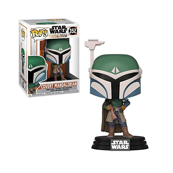 Funko Pop Covert Mandalorian (Star Wars The Mandalorian 352) Funko Pop Star Wars