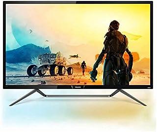 "Philips 436M6VBRAB LCD Monitor 42.51"", Black"