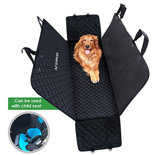 Dogs Car Back Seat Cover Protector - Hammock for Pets...