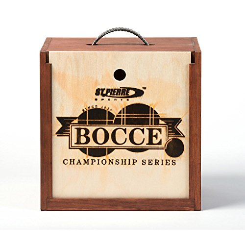 St. Pierre Tournament Bocce Set in Wood Box (TB2) by St.Pierre - Made in USA
