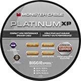 Monster - Platinum XP Clear Jacket MKIII 20' Compact Speaker Cable - White/Copper