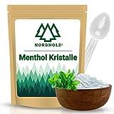 NORDHOLZ® Mentholkristalle [100gr] für Sauna in Premium Qualität aus 100% Minzöl - Befreit die Atemwege und sorgt für natürlich intensiven Duft in der...