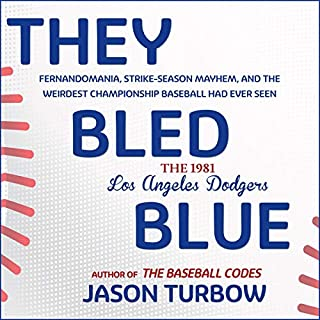 They Bled Blue audiobook cover art