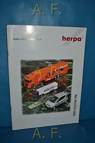 Herpa Miniaturmodelle, Herpa Collection 1998. / Katalog.