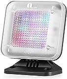 1 BY ONE Fake TV, Simulador TV, Protección de antirrobo, Seguridad del hogar, Sensor de luz y temporizador