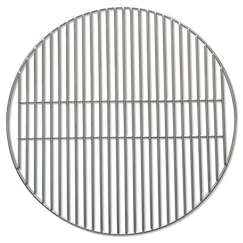 SMOKEWARE Stainless Steel Grill Grate – Compatible with Big Green Egg, Heavy Duty Gauge (XL - 24')
