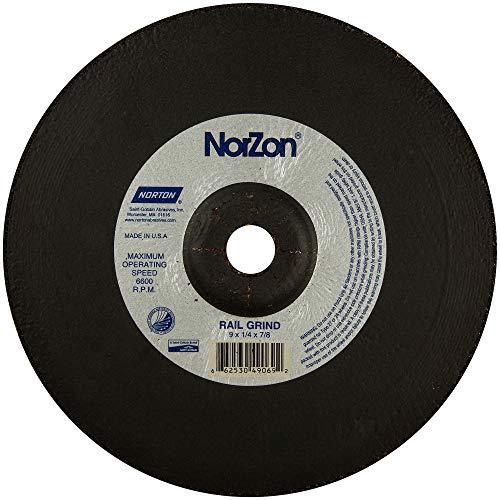 Norton 66253049069 Unitized & Convolute Wheels Size 9 x 1/4 x 7/8