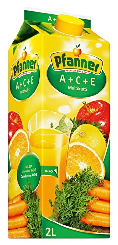 Pfanner ACE Fruchtsaftgetränk 30%, 6 x 2 l Packung