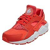 Nike Womens Air Huarache Run Bright Crimson/Bright Crimson Running Shoe 7.5 Women US