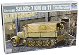 Trumpeter 01507 Modellbausatz German Sd.Kfz.7 Mittlere Zugkraftwagen8t Late Version -