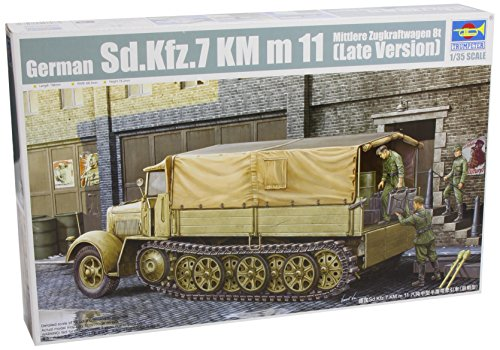 Trumpeter German Sdkfz 7 8-Ton Halftrack Late Version (1/35 Scale)