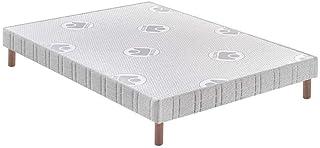 BULTEX - Sommier 140 x 190 Confort ferme 140x190cm AB10986