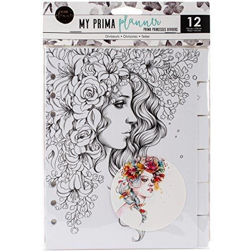 Prima Marketing Planner Embellishments-Prima Princesses Dividers