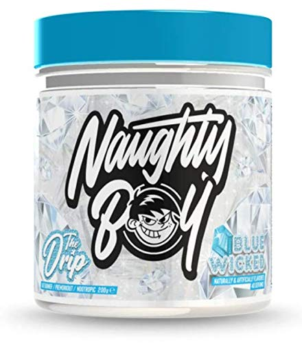 Naughty Boy The Drip - Comprehensive Fat Burner, Long Lasting Energy & Supreme Focus 200g (Blue Wicked)