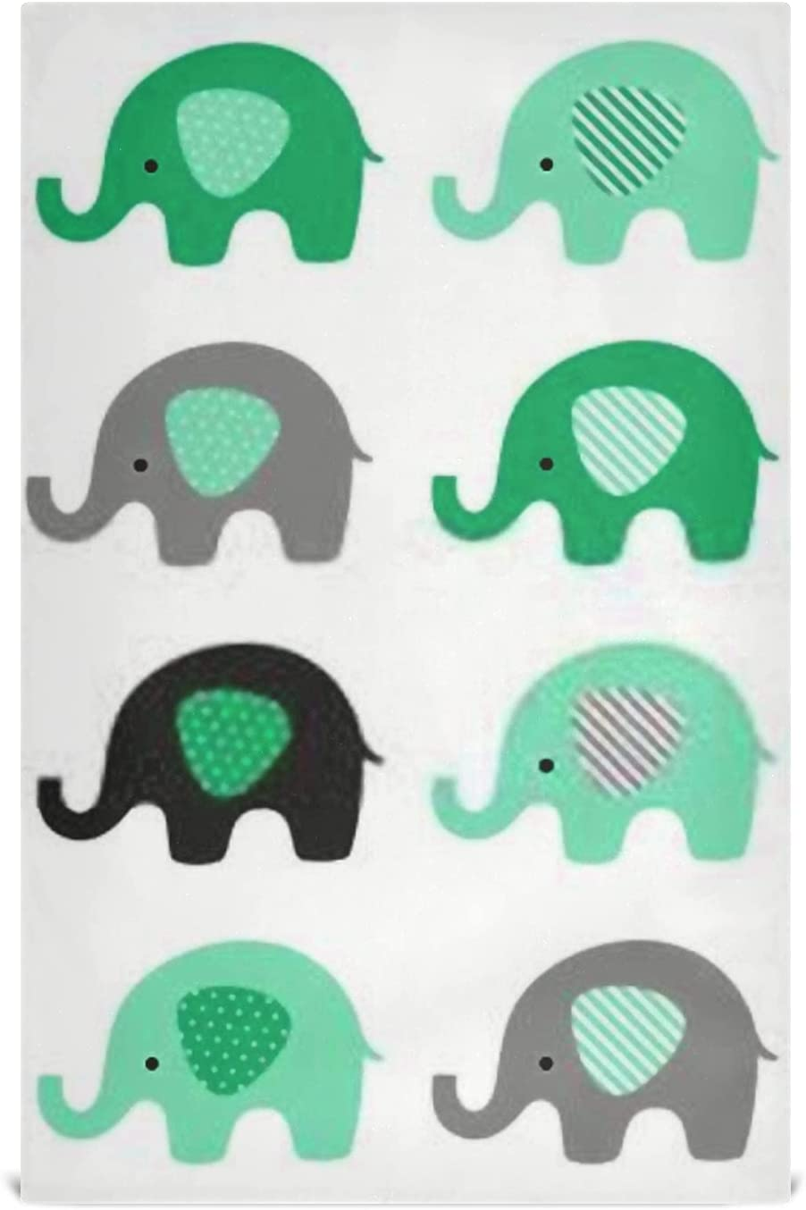 JIUCHUAN Kitchen Dish We OFFer New product! New type at cheap prices Towel Set Vector Elephant 6 Baby Cute