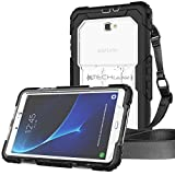 TECHGEAR Coque Vanguard Galaxy Tab A 10.1 - Coque Rigide, Protection Anti-Choc avec Support...
