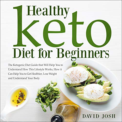 Healthy Keto Diet for Beginners cover art
