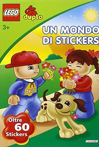Un mondo di stickers. Lego Duplo. Con adesivi
