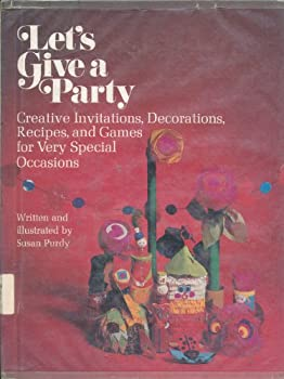 Let's give a party 0448117436 Book Cover