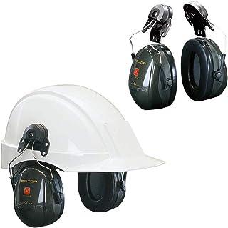 Coquilles antibruit 3M™ PELTOR™ Optime™ II H520P3EA-410-GQ - Vert - avec attaches P3E