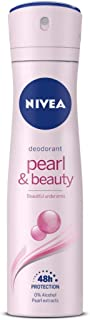 NIVEA Deodorant, Pearl & Beauty, Women, 150ml