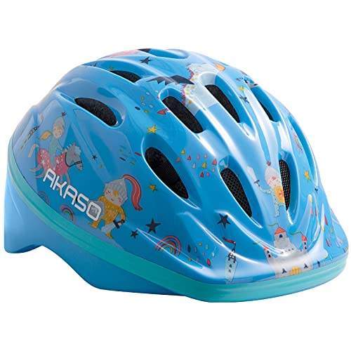 AKASO Casco Niños Casco Bici Niños para1-8 Años, Ajustable Casco Infantil Ligero 200g/ Transpirable para Bicicleta/Patineta/Scooter