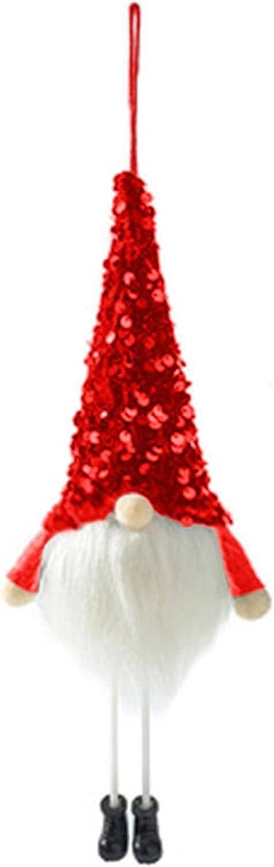 Kairaley Christmas Plush Doll Long-Legged Finally resale start Face Pendant Albuquerque Mall Luminous