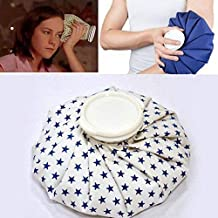 FreShine Ice Cold-Warm Pack Ice Reusable Bag Hot Water Bag for Injuries, Hot & Cold Therapy and Pain Relief (Ice Bag)