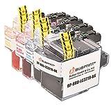 4 Bubprint Cartuccia stampante FRATELLO compatibile per Brother lc-3219 lc-3217 LC 3219 LC 3217 MFC J