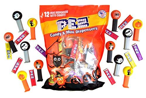 Mini Halloween PEZ dispensers