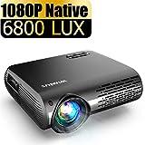 WiMiUS 5500 Lux ムービープロジェクター ネイティブ 1080P LEDプロジェクター 4K 300インチ ディスプレイ ±50° デジタルキーストーン補正 Dolby 70,000時間対応 ホームエンターテイメント&ビジネスプレゼンテーションP