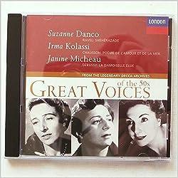 Voices of The 50'S-Vol.2-S.Danco-I.Kolassi-J.Micheau