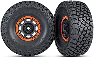 Traxxas 8472 Desert Racer Wheels with Bfgoodrich Baja Kr3 Tires, Black