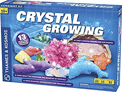 Thames & Kosmos Crystal Growing Science Kit Grow Over A Dozen Crystals with 15 Experiments