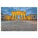 artboxONE Poster 150x100 cm Städte/Berlin Brandenburger