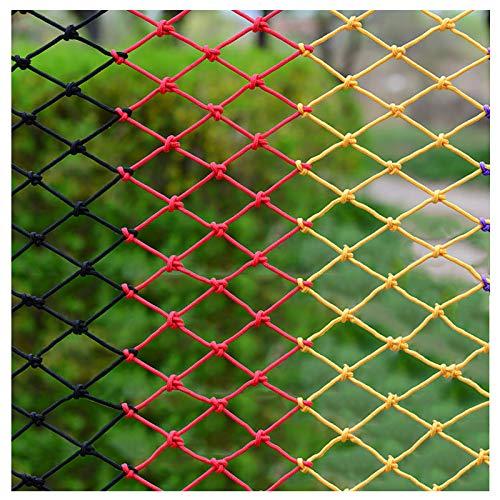 Im Freien Kletterschutz Zaun Netz Für Kinder, Innenbalkon Schutz Decor Netz, Gartennetz Spielplatz Nylon Seil Kletternetz Für Kinder, LKW-frachtnetz(Size:1X4M(3X13FT))